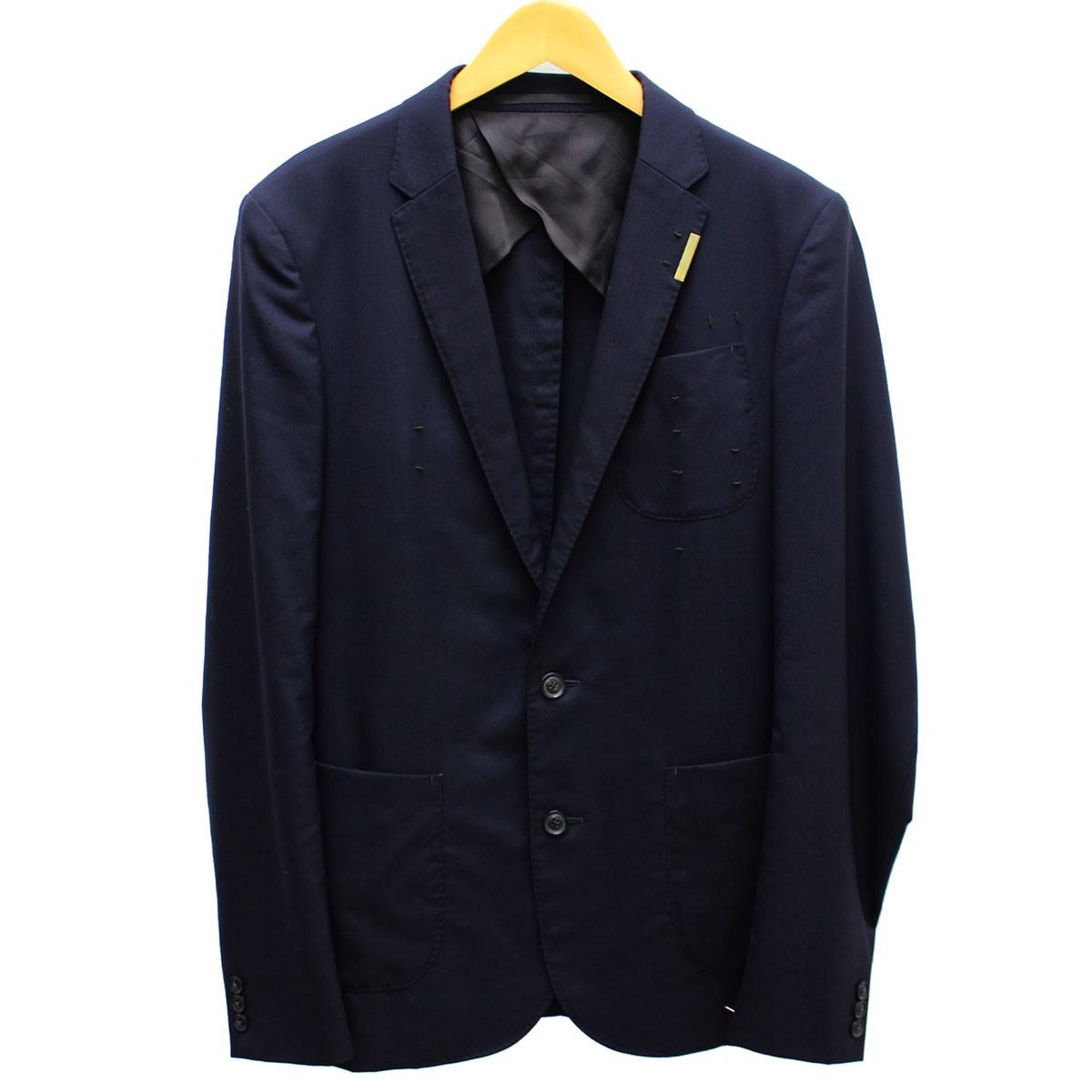 【中古】kolor テーラードジャケット 2016SS 16SCM-J09110 ネイビー サイズ:3(L) 【送料無料】 【230219】(カラー)
