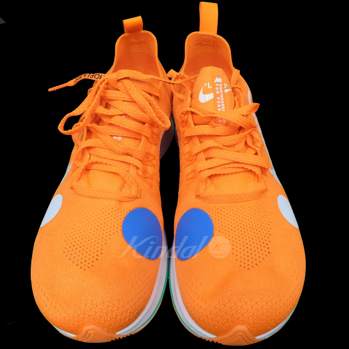 8f7cff6819819 OFF WHITE X NIKE Zoom Fly Mercurial Flyknit zoom fly fly knit sneakers  orange size  US9(27cm) (off-white Nike)