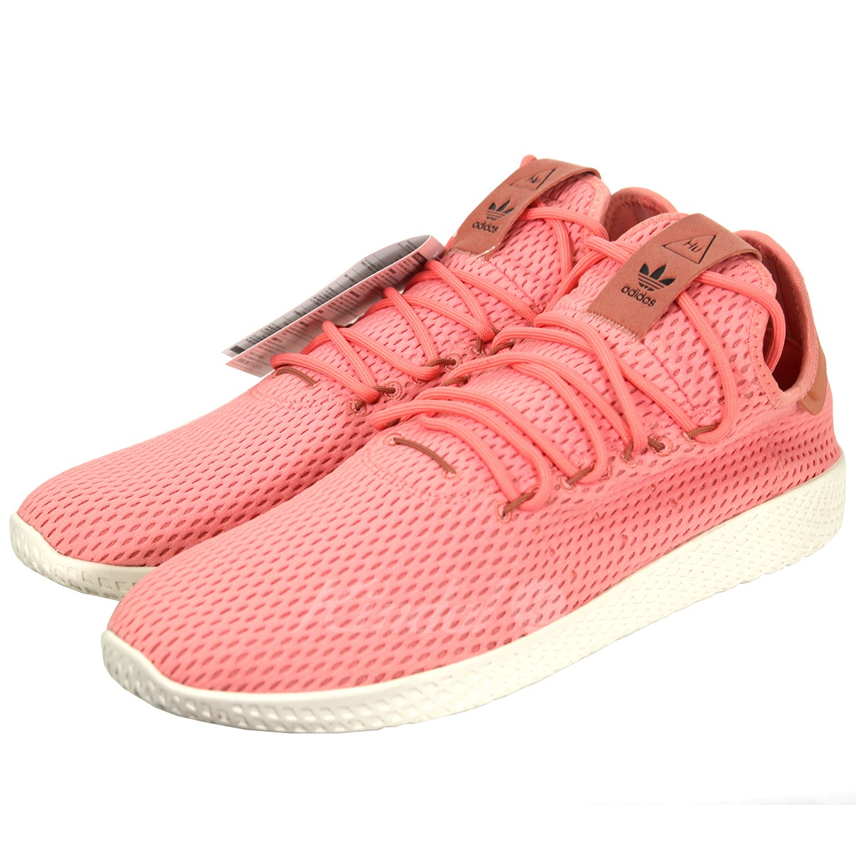 bf15d0bf5 adidas Originals PHARRELL WILLIAMS TENNIS HU PRIMEKNIT SHOES BY8715 pink  size  30cm (Adidas originals Farrell Williams)