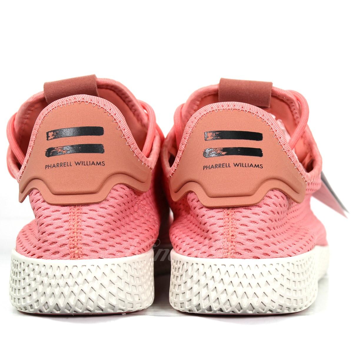bf15d0bf5 adidas Originals PHARRELL WILLIAMS TENNIS HU PRIMEKNIT SHOES BY8715 pink  size  30cm (Adidas originals Farrell Williams)