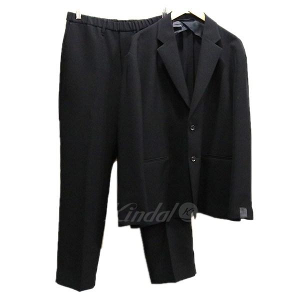 【中古】N.HOOLYWOOD ×PARQS MENS 19SS セットアップスーツ 【SAMPLE品】 ブラック サイズ:上下38 【送料無料】 【250219】(エヌハリウッド)