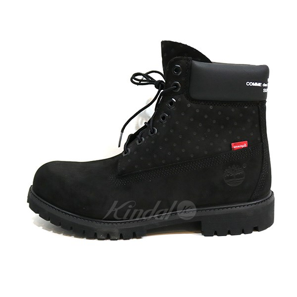 classic shoes best selling cheap for sale Supreme x Comme des Garcons SHIRT X TIMBERLAND 6Inch Premium Waterproof  Boot boots black size: M 9 1/2 (シュプリーム X コムデギャルソンシャツ)