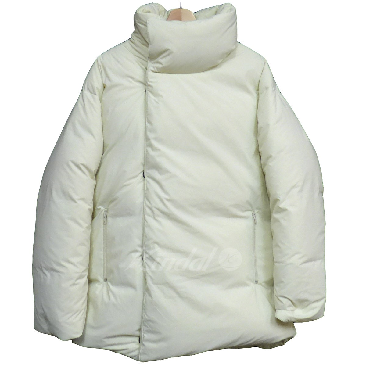 68bef994b648 kindal  UNUSED 18AW Down Jacket over size down jacket off-white size ...
