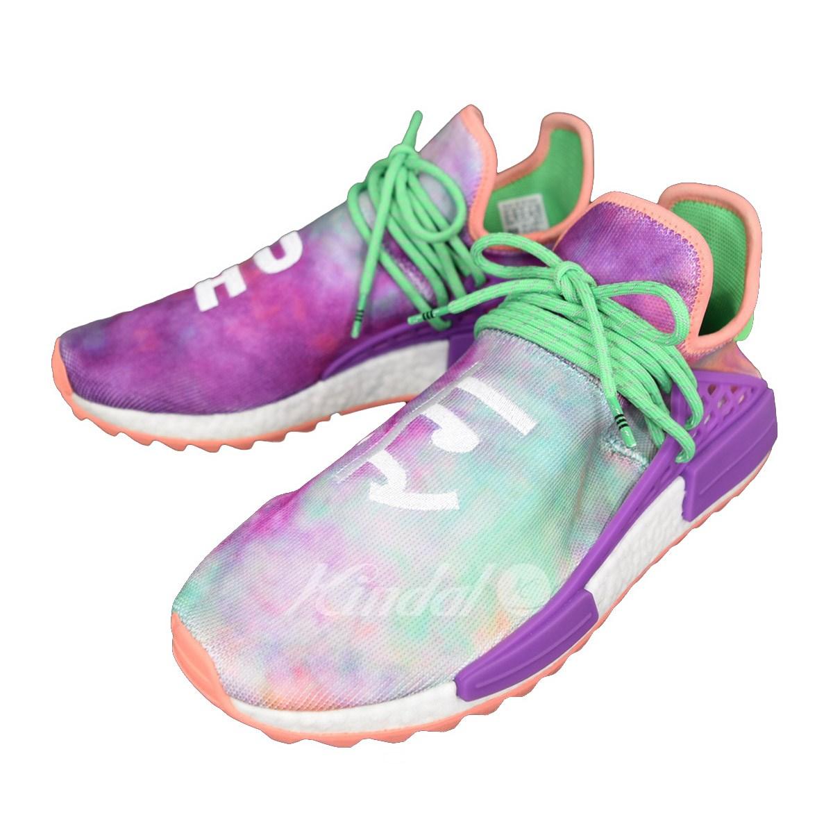 【中古】adidas Originals Pharrell Williams PW HU HOLI NMD MC トレイルホーリーヒューマンレース AC7034 パープル サイズ:US 10 1/2 【送料無料】 【270219】(アディダスオリジナルス ファレルウィリアムス)