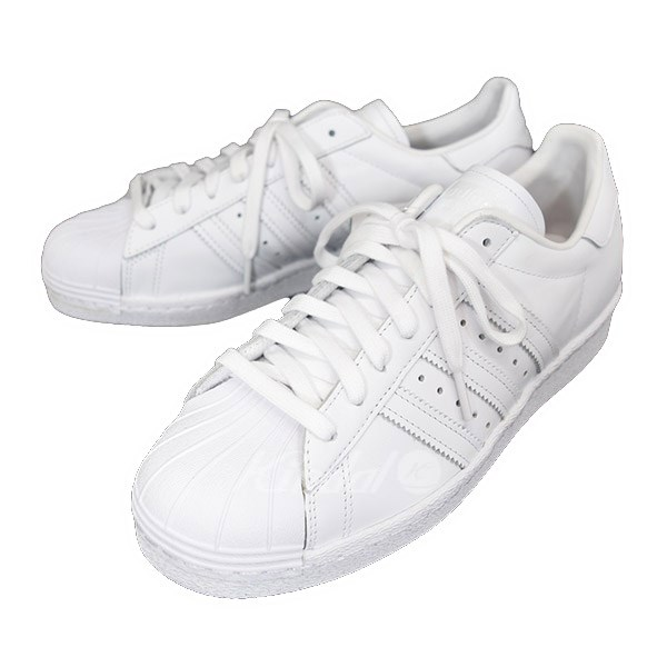 best service 8b8c0 72554 adidas SUPERSTAR 80S superstar 80S sneakers S79443 white size: US 7 (Adidas)