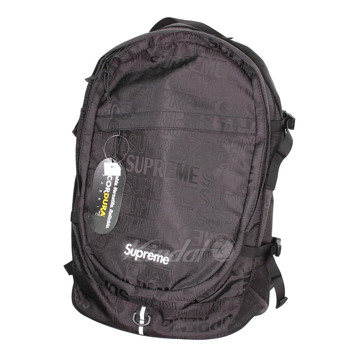 【中古】SUPREME 19SS Backpack BOXロゴバックパック ブラック サイズ:- 【送料無料】 【270219】(シュプリーム)