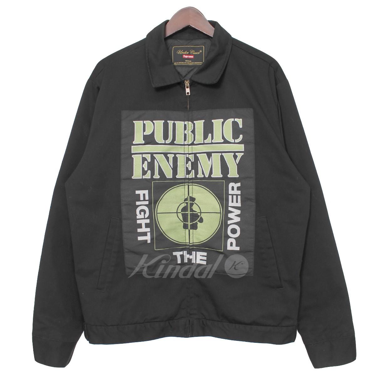 【中古】Supreme UNDER COVER 18SS ×Public Enemy Work Jacket パブリックエネミー ワークジャケット 【送料無料】 【015058】 【KJ1645】