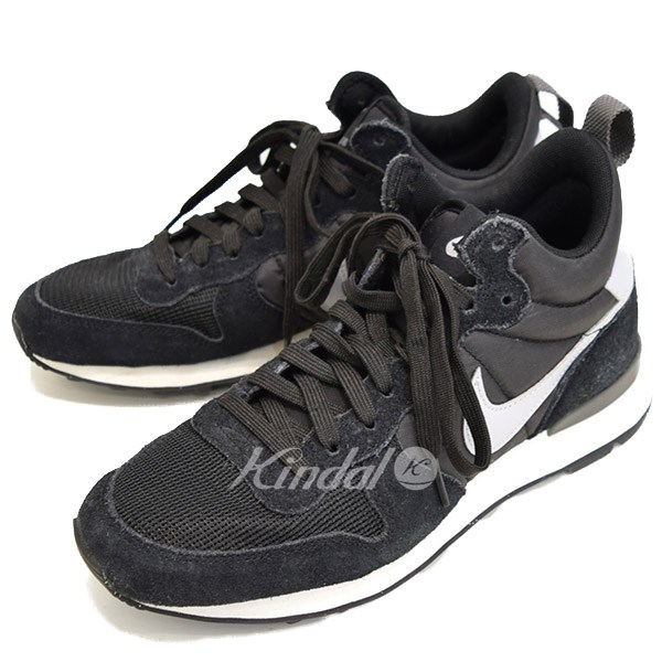 big sale b61c6 e9bf6 NIKE INTERNATIONALIST MID internationalist sneakers 682844 001 black X white  size 24. 5 (Nike)