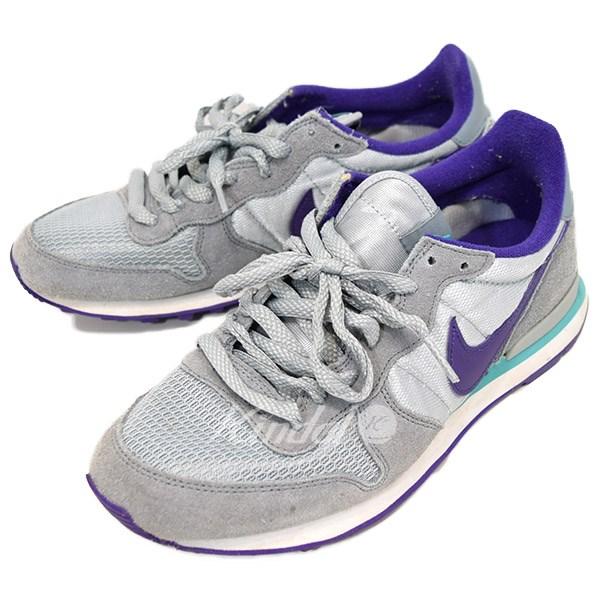 best cheap fb17f fbf84 NIKE INTERNATIONALIST internationalist sneakers 629684 008 gray X purple  size  25.