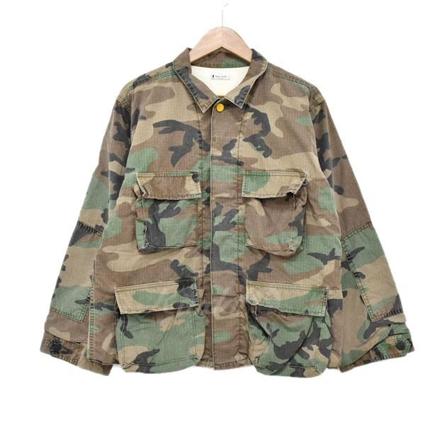 【中古】Porter Classic camouflage jacket ミリタリージャケット カーキ サイズ:S 【送料無料】 【010319】(ポータークラシック)