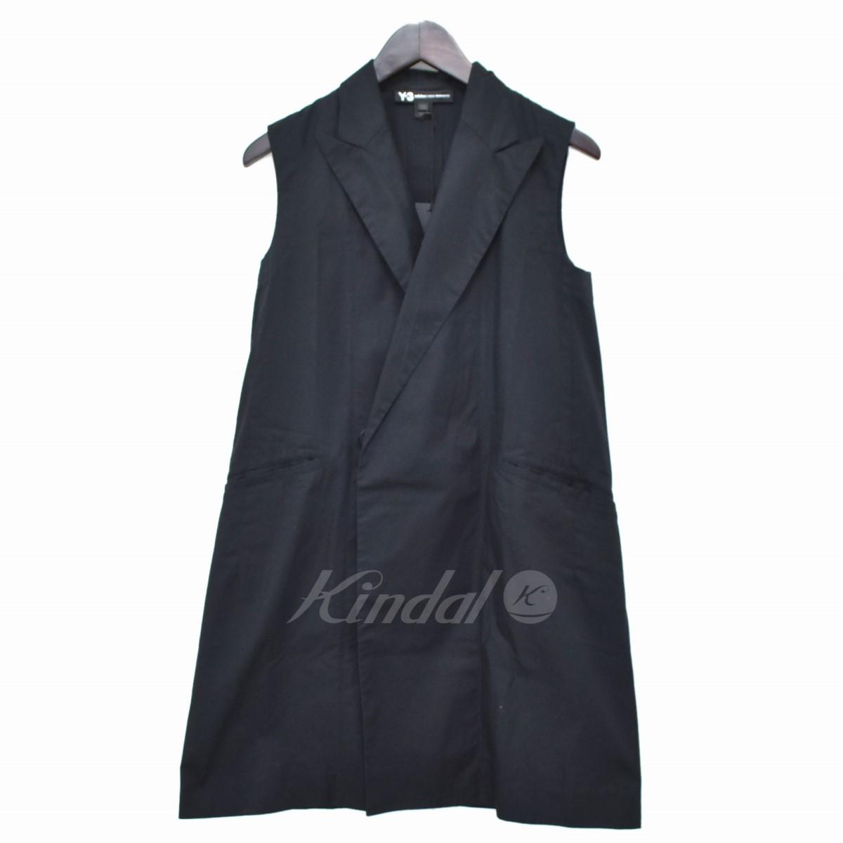 【中古】Y-3 long blazer ベスト ブラック サイズ:XXS 【送料無料】 【020319】(ワイスリー)