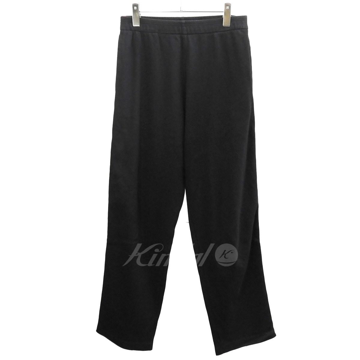 【中古】Y's for men サイドラインスウェットパンツ ブラック×レッド サイズ:3 【送料無料】 【040319】(ワイズフォーメン)