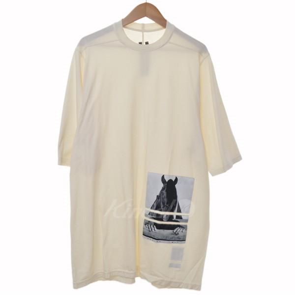 【中古】DRKSHDW 15AW horse patch T-shirt ホースパッチTシャツ アイボリー 【送料無料】 【060319】(ダークシャドウ)