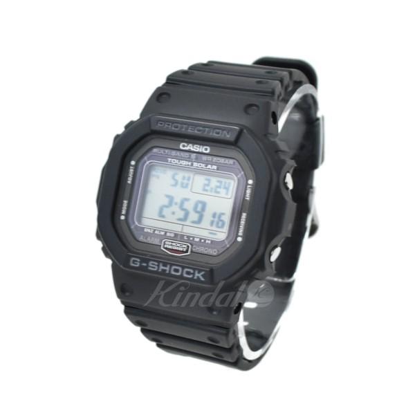 【中古】CASIO 腕時計 G-SHOCK GW-5000 ブラック 【送料無料】 【070319】(カシオ)