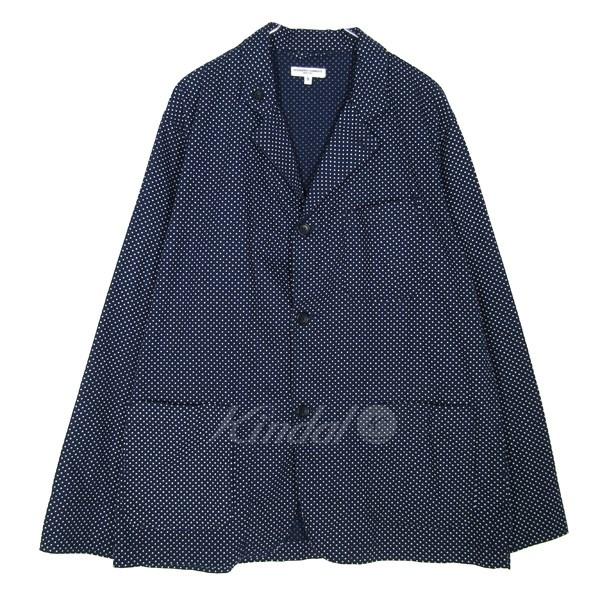 【中古】Engineered Garments 2016S/S Loiter Jacket/ロイタージャケット ネイビー サイズ:S 【送料無料】 【070319】(エンジニアードガーメンツ)