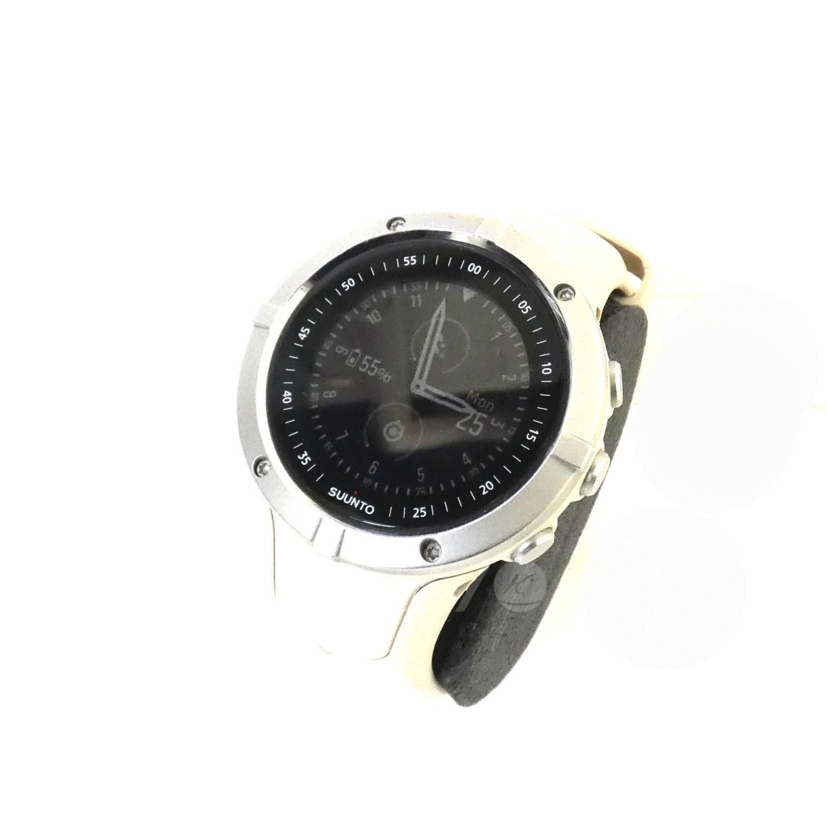 【中古】SUUNTO 「SPARTAN TRAINER WRIST HR」 腕時計 ベージュ サイズ:- 【送料無料】 【070319】(スント)