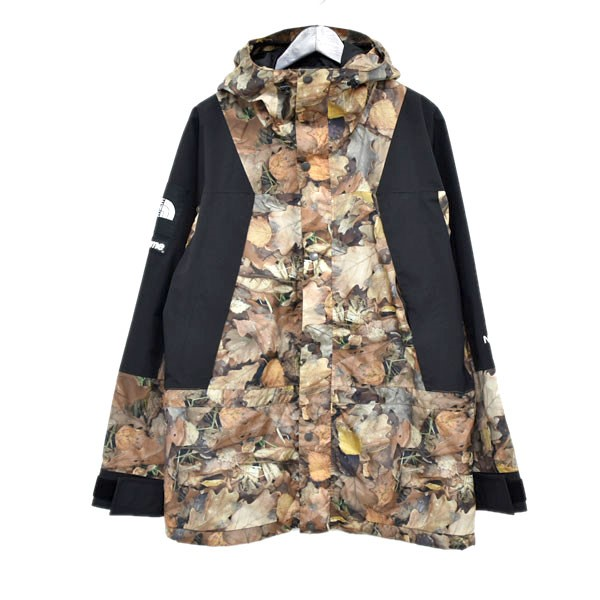 c4392eac67cf7 SUPREME X THE NORTH FACE 16AW Mountain Light Jacket leaf camo mountain  jacket brown other size ...