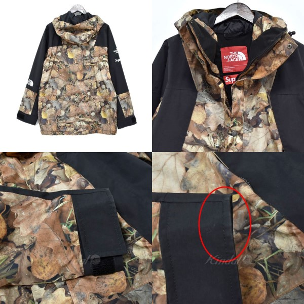 122d874386dbc ... SUPREME X THE NORTH FACE 16AW Mountain Light Jacket leaf camo mountain  jacket brown other size ...