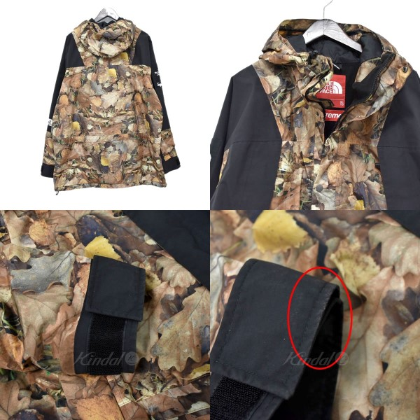 dbf2af15f9b39 SUPREME X THE NORTH FACE 16AW Mountain Light Jacket leaf camo mountain  jacket brown other size: XL (シュプリームザノースフェイス)