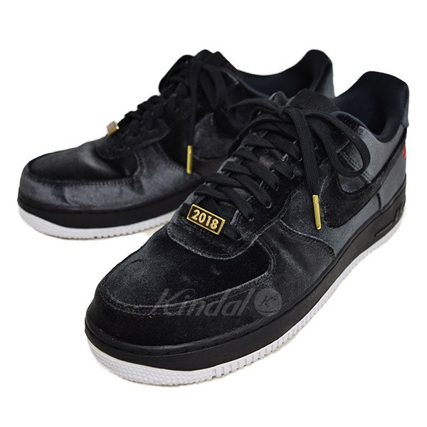 new photos great look shades of NIKE AIR FORCE 1 07 QS VELVET ROSE air force 1 AH8462 003 black size: US 9.  5 (Nike)