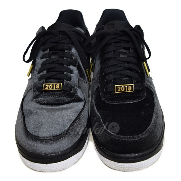 9e9e3fe49d8c NIKE AIR FORCE 1 07 QS VELVET ROSE air force 1 AH8462 003 black size  US 9.  5 (Nike)
