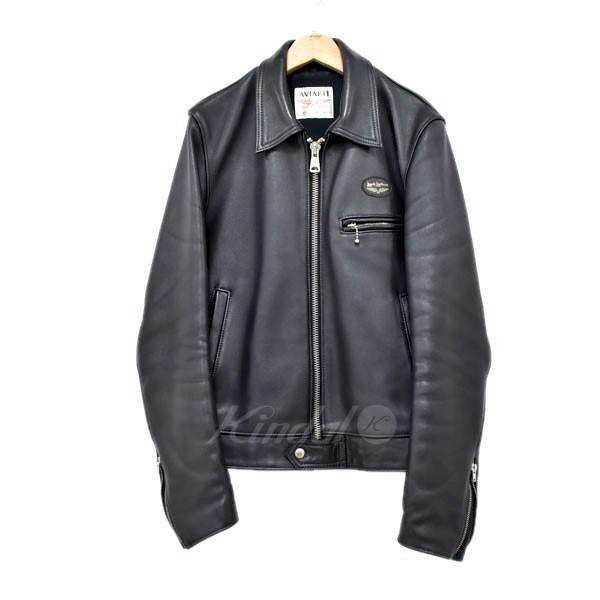 【中古】HYSTERIC GLAMOUR×Lewis Leathers ドミネータージャケット シングルライダースジャケット ブラック サイズ:S 【送料無料】 【090319】(ヒステリックグラマー ルイスレザー)