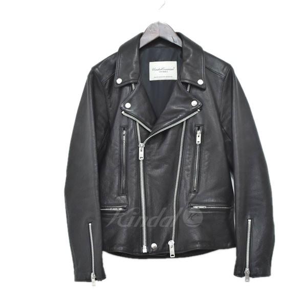 【中古】UNDER COVERISM 13AW ダブルライダースジャケット ブラック サイズ:1 【送料無料】 【110319】(アンダーカバーイズム)