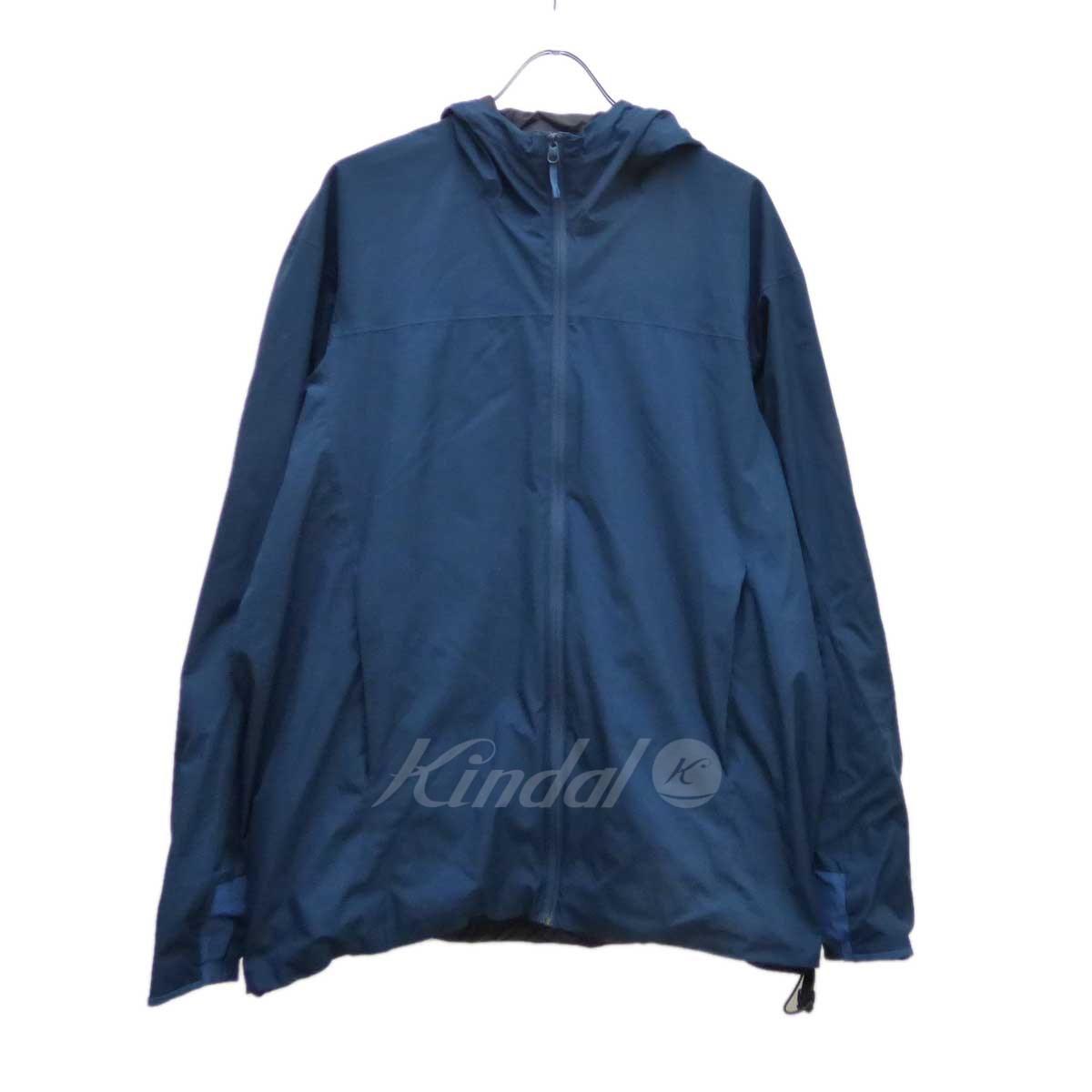 【中古】ARCTERYX Solano Jacket マウンテンパーカー ブルーグリーン サイズ:L 【110319】(アークテリクス)