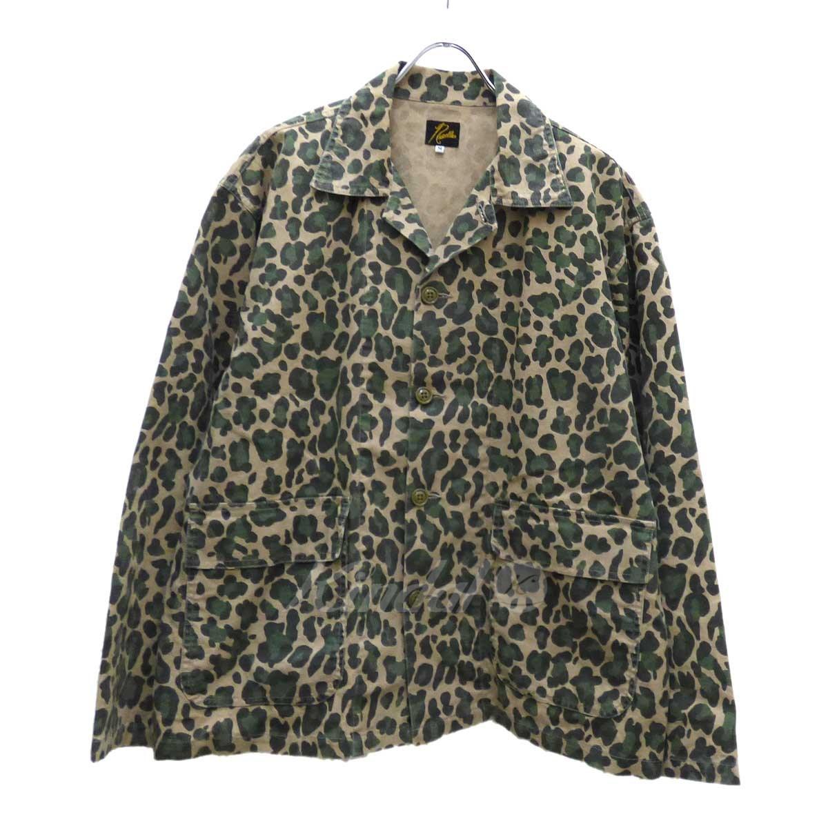 【中古】Needles Bush Jacket C/L Canvas ジャケット ベージュ×グリーン サイズ:M 【110319】(ニードルス)