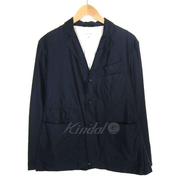 【中古】Engineered Garments テーラードジャケット ネイビー サイズ:S 【送料無料】 【110319】(エンジニアードガーメンツ)