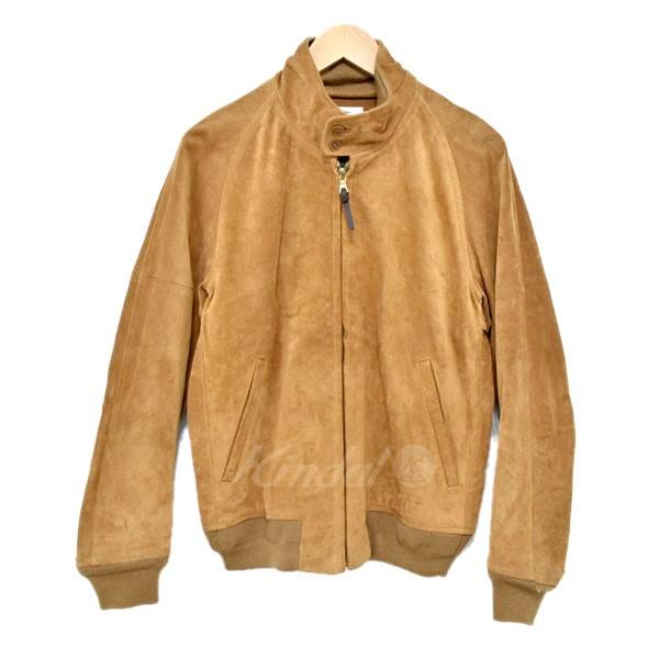 【中古】VISVIM ketchikan jacket レザーブルゾン ブラウン サイズ:1 【送料無料】 【120319】(ビズビム)