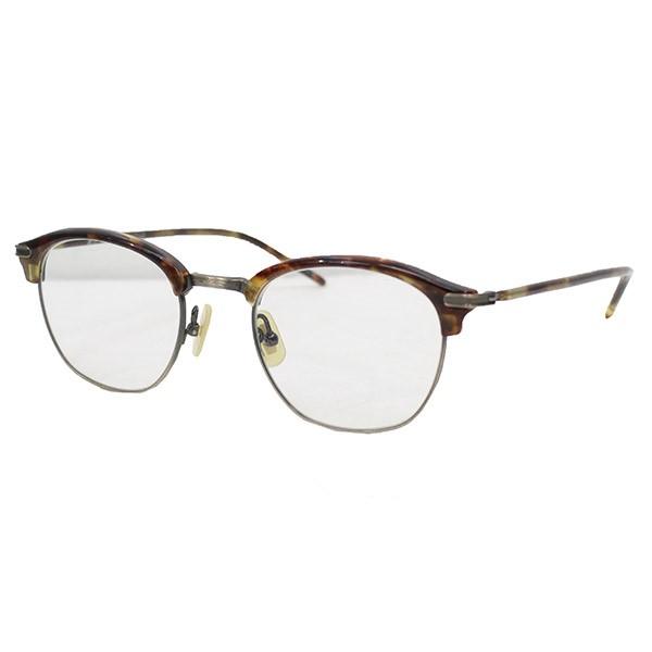金子眼鏡 VINTAGE 眼鏡 メガネ ブラウン サイズ:49□21-145  【110319】(カネコメガネ)