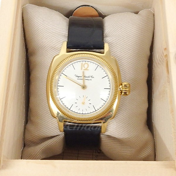 【中古】VAGUE WATCH Co. COSSIN 12 Crocodile belt 腕時計 ゴールド×ブラック サイズ:- 【送料無料】 【110319】(ヴァーグウォッチカンパニー)