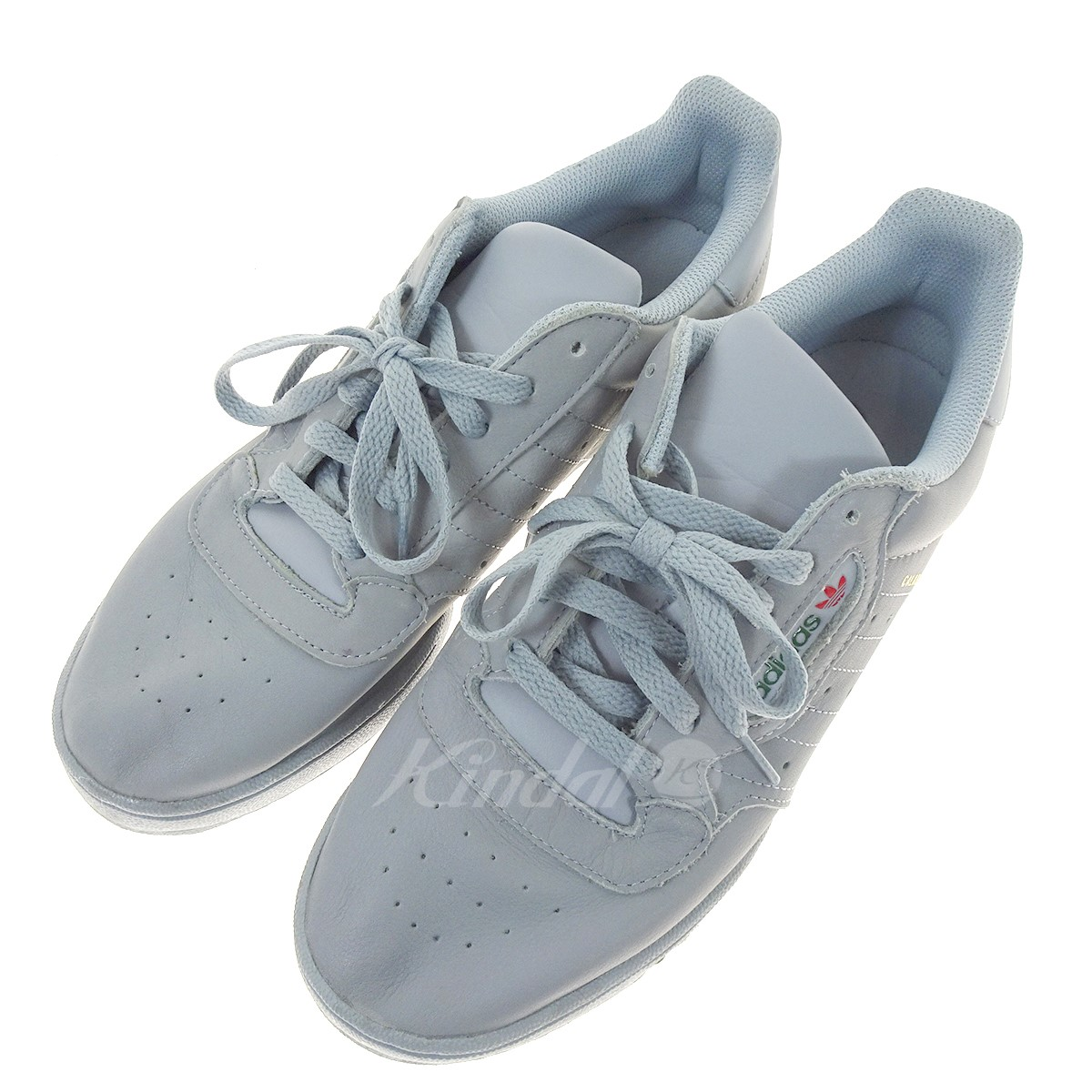 bcf337a323cd8 adidas Originals YEEZY POWER PHASE low-frequency cut sneakers CG6422 gray  size  27. 0 (Adidas original)