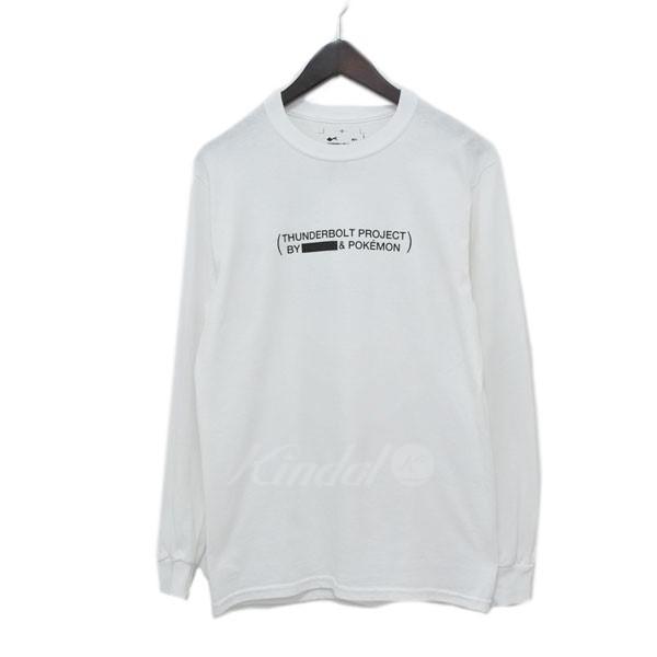 【中古】Fragment×POKEMON THUNDERBOLT PROJECT Tシャツ ホワイト サイズ:S 【120319】(フラグメント×ポケモン)