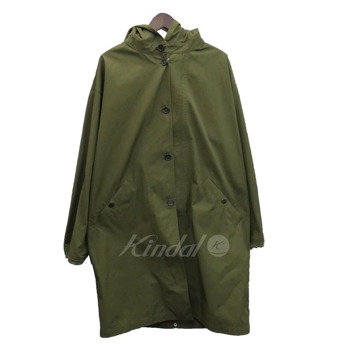 【中古】MARNI 18SS フード付き中綿コート オリーブ サイズ:44 【送料無料】 【120319】(マルニ)