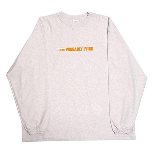 【中古】VETEMENTS 18AW Insideout Longsleeve Graphic Tee インサイドアウトTシャツ グレー サイズ:M 【120319】(ヴェトモン)
