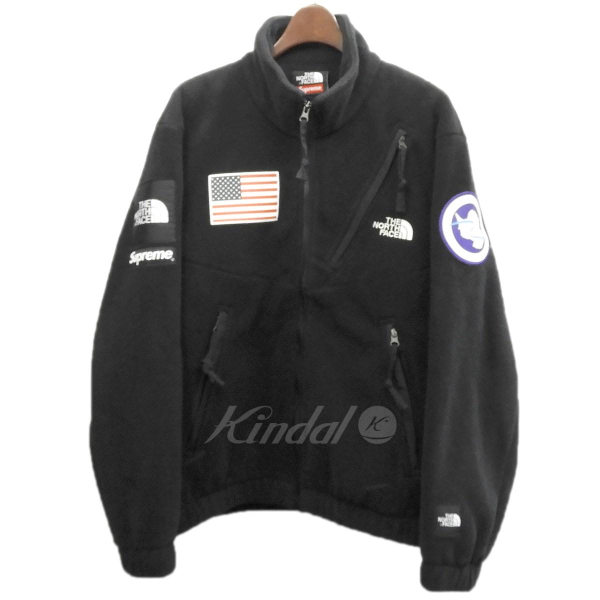 【中古】Supreme×THE NORTH FACE 17SS「Trans Antarctica Expendition Fleece Jacket」 ブラック サイズ:S 【送料無料】 【130319】(シュプリーム ノースフェイス)