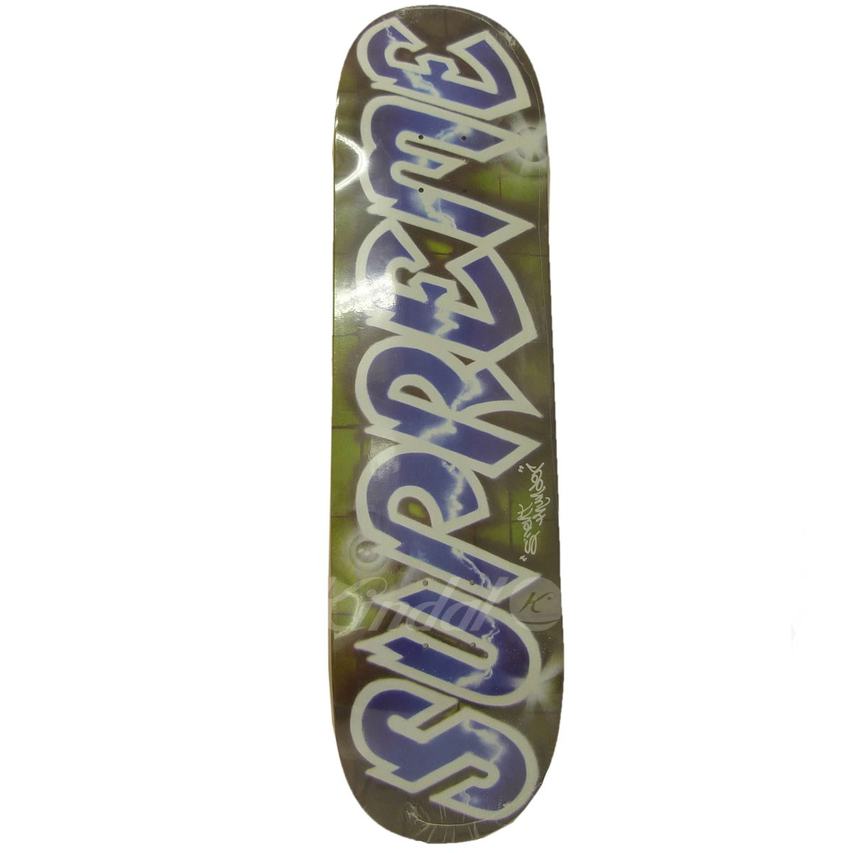 【中古】SUPREME 18SS「Lee Logo Skatebord」リーロゴスケートボードデッキ グリーン サイズ:- 【送料無料】 【130319】(シュプリーム)