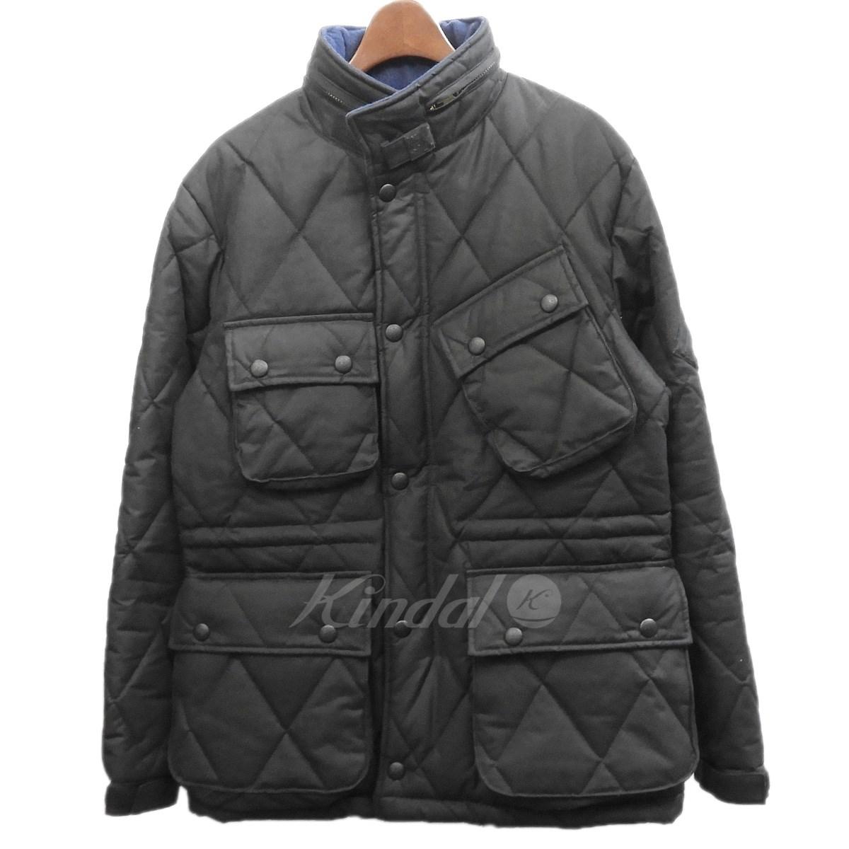 【中古】RUDE GALLERY BLACK REBEL×Millerain オイルドジャケット ブラック サイズ:M 【送料無料】 【140319】(ルードギャラリーブラックレベル ミラレーン)