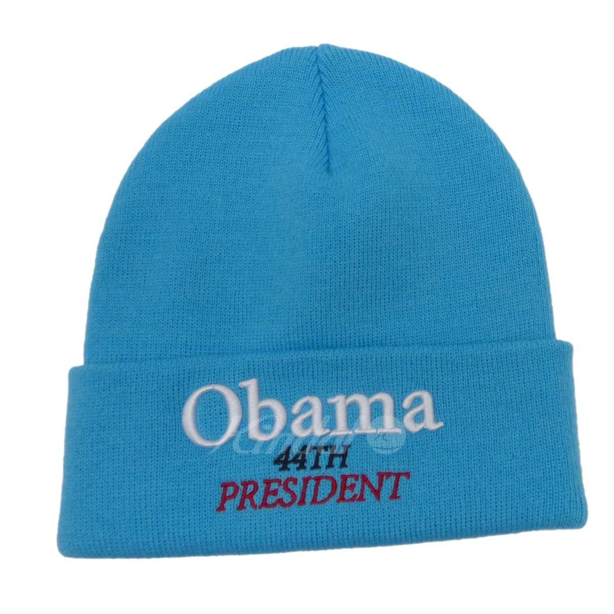 5c43734873 kindal  SUPREME Obama Beanie knit cap blue (シュプリーム)