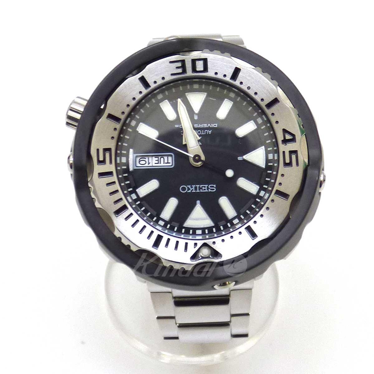 【中古】SEIKO Automatic Diver 200 プロスペックス SRPA79K 日本未発売 自動巻き ブラック×シルバー 【送料無料】 【140319】(セイコー)