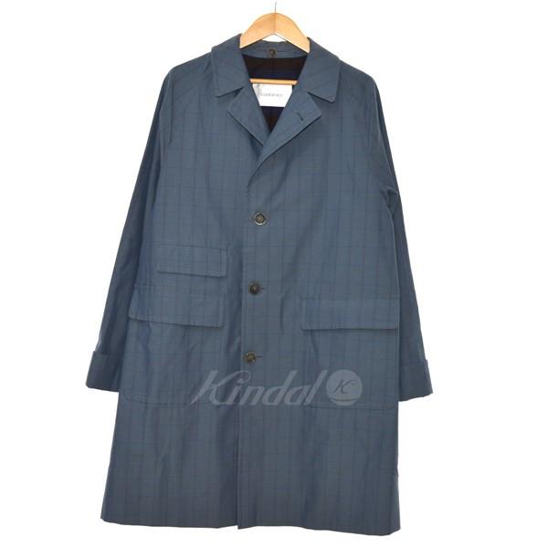 【中古】COHERENCE 18AW CORB2 コットンギャバジンコート ブルー サイズ:M 【送料無料】 【160319】(コヒーレンス)