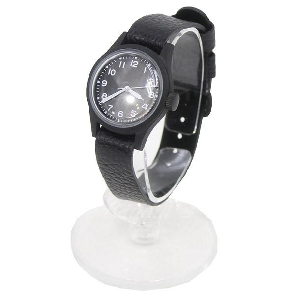 【中古】VAGUE WATCH Co.for 1LDK PARIS ミリタリーウォッチ 腕時計 ブラック 【送料無料】 【150319】(ヴァーグウォッチカンパニー ワンエルディーケー パリ)