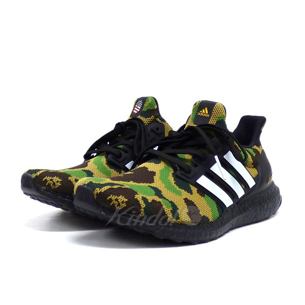 bfcd22ef4 A BATHING APE X adidas Originals F35097 ULTRA BOOST BAPE ultra boost  sneakers shoes khaki size  275 (アベイシングエイプ X Adidas)