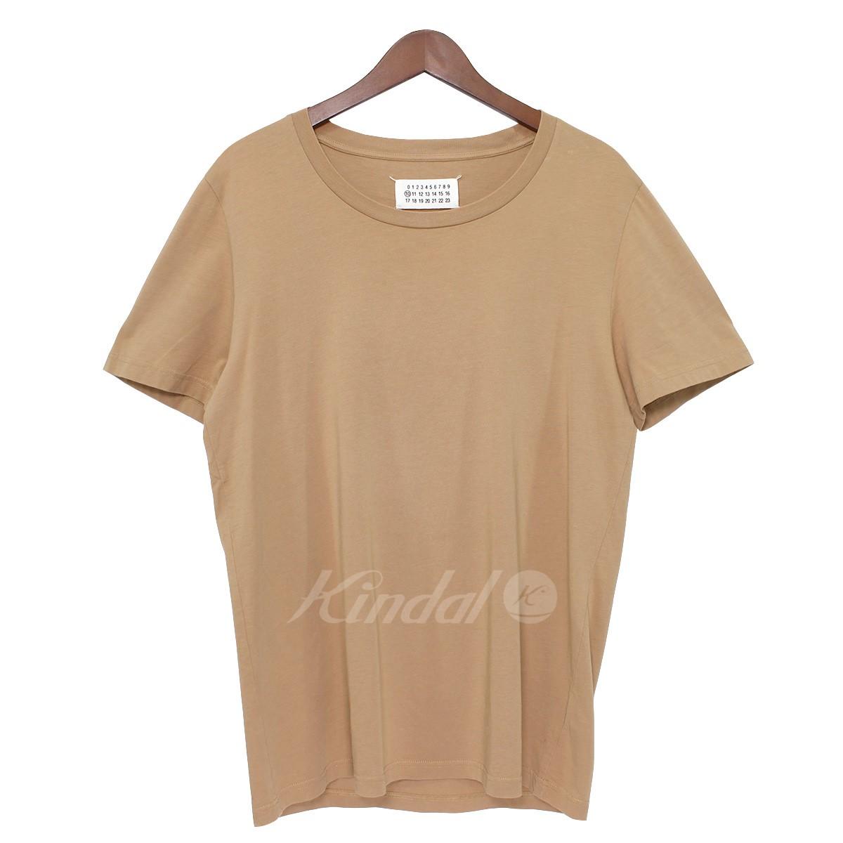 【中古】Martin Margiela 10 クルーネックカットソー Tシャツ ブラウン サイズ:S 【送料無料】 【190319】(マルタンマルジェラ)