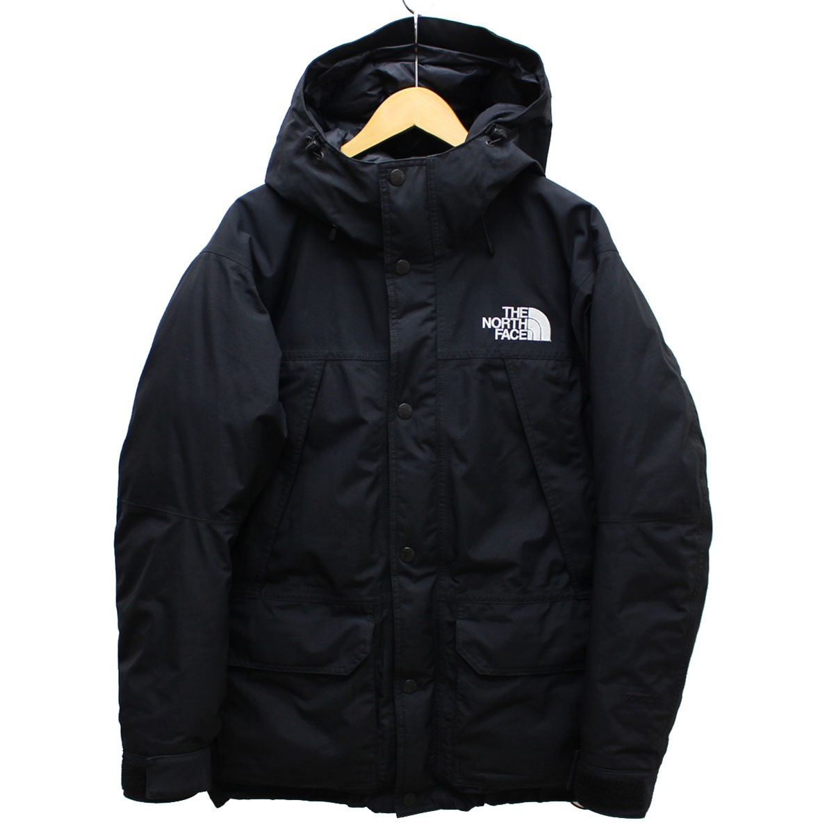 【中古】THE NORTH FACE MOUNTAIN DOWN PARKA 17AW ND91700R ダウンジャケット ブラック サイズ:M 【送料無料】 【190319】(ザノースフェイス)