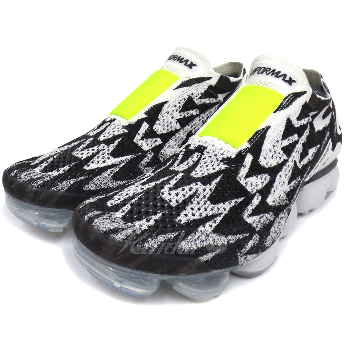 6c6355883848 ACRONYM X NIKE AIR VAPORMAX FLYKNIT MOC 2 air vapor max sneakers white X  black size  US8. 5 (26.5cm) (アクロニウム)