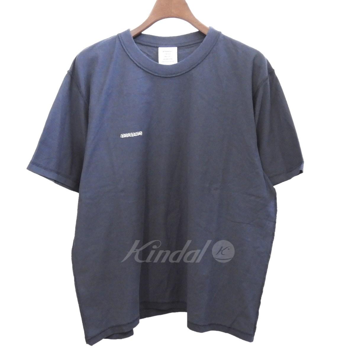 【中古】VETEMENTS 2018AW インサイドアウトHUG ME Tシャツ ネイビー サイズ:L 【送料無料】 【220319】(ヴェトモン)