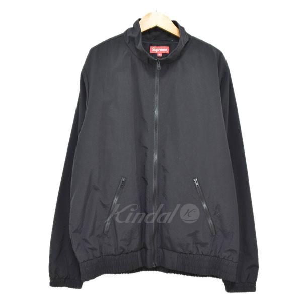 【中古】SUPREME 17AW Arc Track Jacket アーチロゴ トラックジャケット ブラック サイズ:M 【220319】(シュプリーム)